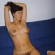 Salomé mature milf sexy hairy pussy wife erotic images