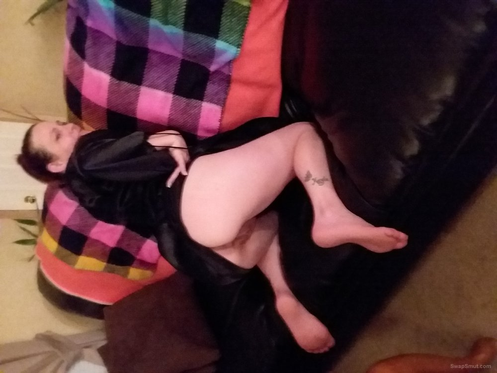 My little body exposed for your pleasure on the couch 1