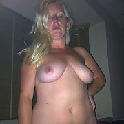 Fully nude submissive wife waiting to be used for sexual pleasure