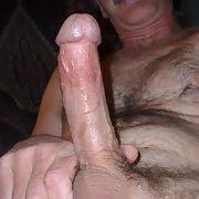 Just my pics cock hard on nice and erect