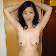 Hot Asian Ann Poses in Her Bra and Panties For Sexy Pics