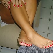 BRUTUX TOES LONG GIRL BRAZILIAN AMATEUR FOOT FETISH