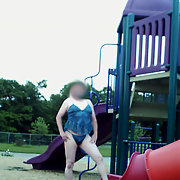 Fun the the Playground Anyone else brave enough cross dressing