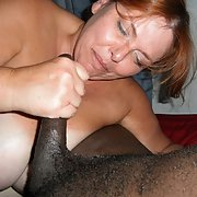 Bust slut wife likes her meat dark and hard