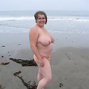 celestewoodrow nude on thebeach
