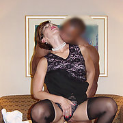 Sexy Rebecca being shared while hubby watches and take snaps cuckold