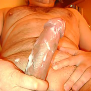 Just me horny having a lot of fun spunking cum
