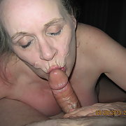 Sweet pussy at it again what a girl blowing a dildo and a penis
