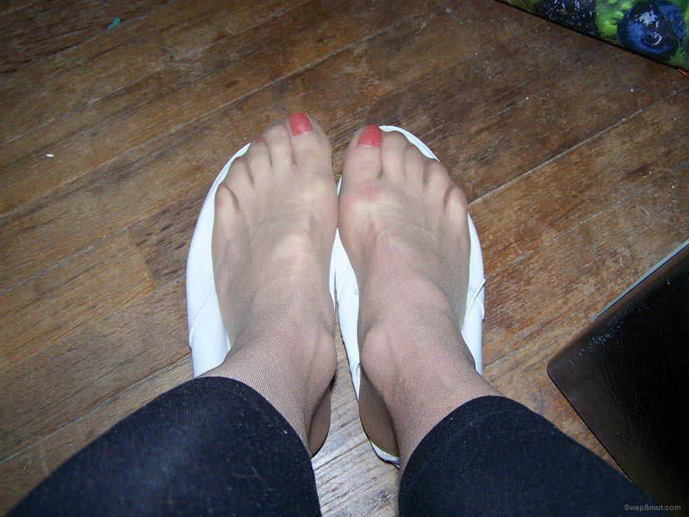 The way i love to keep my feet, sexy and girly