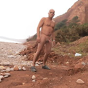 Nude beach public in devon with hardon pierced cock