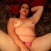 My sister in law playing with her toys masturbating with dildo