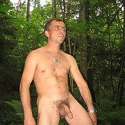 Just me waiting for comments let's get acquainted nude in woods