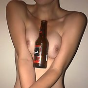 I enjoyed playing with a bottle of Carling Black Label Beer insertion