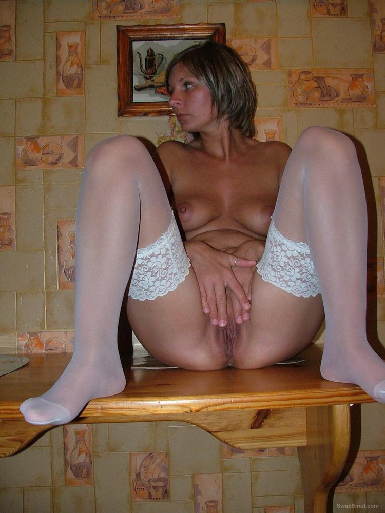 Naughty pics of the wife taking cock