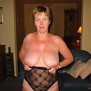 Horny Scottish MILF Jayne UK with big baps and sexy pussy exposing herself