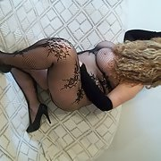 32 year old teacher in body stocking posing for sexy pics