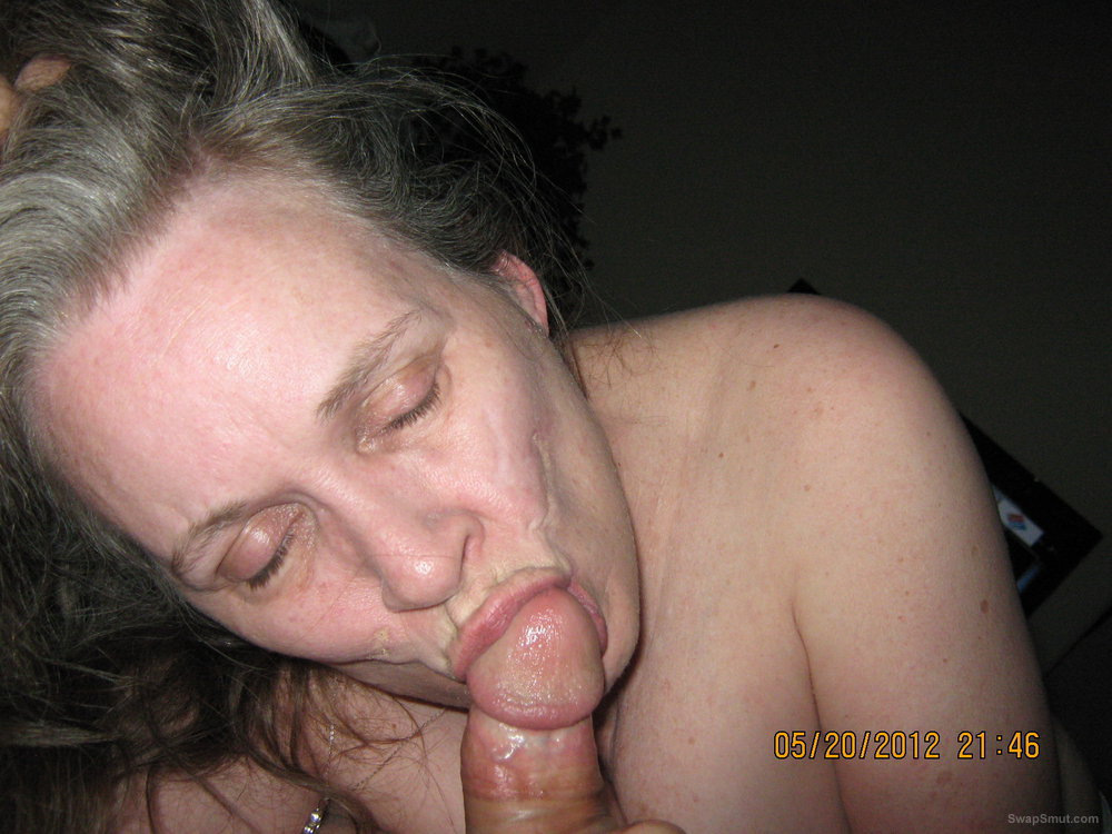 Mature Wife Sucks Young Cock