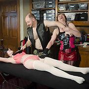 Brett Natalie Mistress Malicia threesome sex session