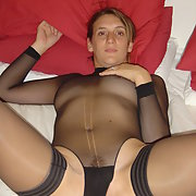 Milf wife wearing lingerie lovely body and breasts to cup