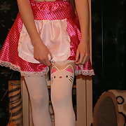 Our kinky girlie maid and schoolgirl submissive dressing up games