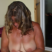 Tanlines beauty for all to see BBW sunbathing naked outdoors in public