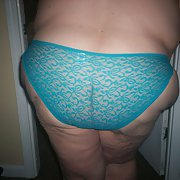 Mothersday panties amateur BBW knickers big bottom chubby woman