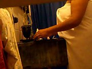 mexican wife fat in shower