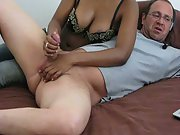 Wife Giving Me A Handjob While On Webcam