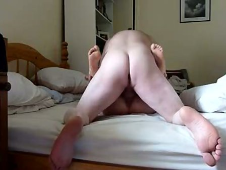 Older couple quickie sex both so horny did not last long creampie