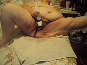 new vid 4 showing off bbw masturbating with big vibrator
