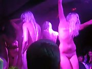 Fucking hot sexy naked girls dancing nude competition in night club