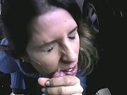 Quick blowjob and facial