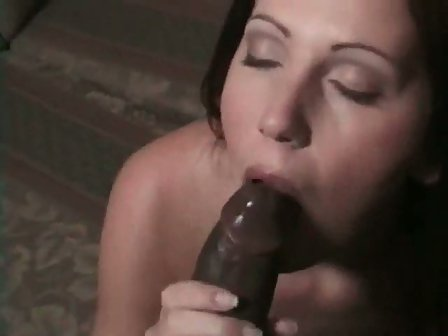 Love black cock slut wife huge white