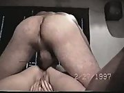 Big thick penis balls deep inside my whore wife making her orgasm