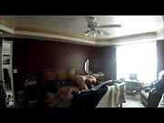 Hidden camera setup in our bedroom recording me fucking my wife