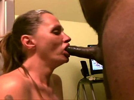 Latina braces blowjob