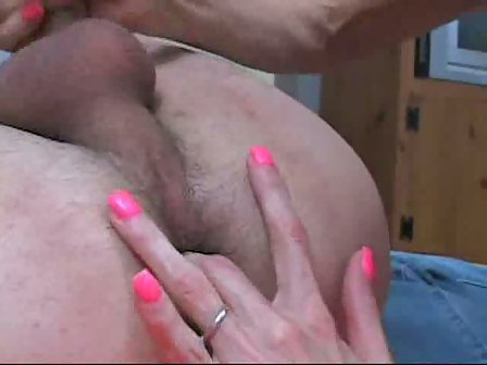 Anal Prostate Massage and Handjob