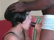 Interracial cuckold mature lady wants hubby to record her impregnated