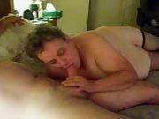 sub/slut sucking strangers cock