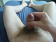 Shooting a nice load of cum from my dick
