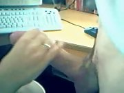 Sex In The Office in POV after some good cock-sucking by blonde wife