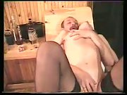 Alina In Sauna enjoying threesome sex with her husband and his friend